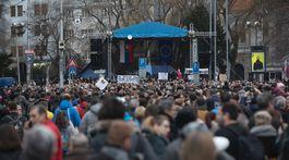 zhromaždenie,  Za slušné Slovensko v Bratislave