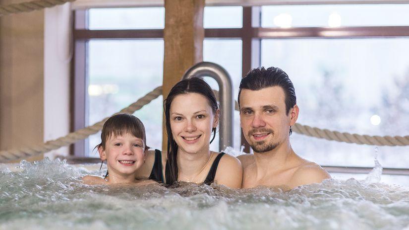 kúpele, rodina, wellnes