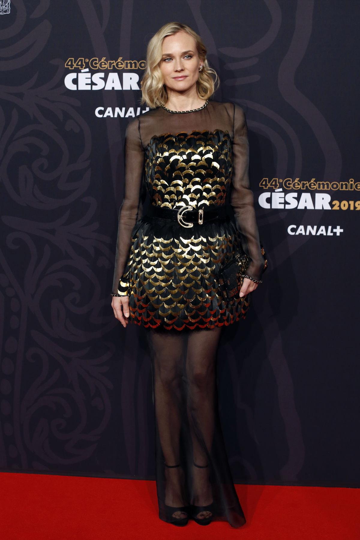 Nemecko-americká herečka Diane Kruger prichádza...
