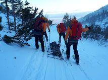 Záchranári horskej záchrannej služby, tatry