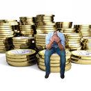 peniaze, muž, dane, mince