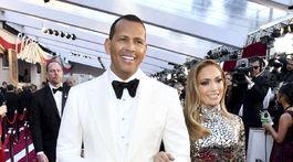 Bývalý športovec Alex Rodriguez a jeho partnerka - speváčka Jennifer Lopez.