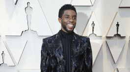 Herec Chadwick Boseman z nominovaného filmu Čierny panter.