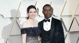 Herec David Oyelowo a jeho manželka Jessica.