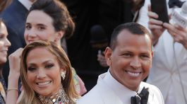 Herečka a speváčka Jennifer Lopez a jej partner Alex Rodriguez.