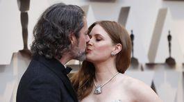 Herečka Amy Adams a jej manžel Darren Le Gallo.
