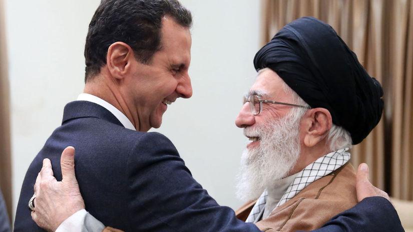 Irán Sýria prezident návšteva