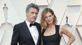 Režisér Pawel Pawlikowski a jeho manželka - bývalá topmodelka Malgosia Bela.