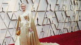Zlatý model Carolina Herrera herečke Glenn Closeovej šťastie nepriniesol.