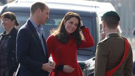 Princ William a jeho manžeka Catherine