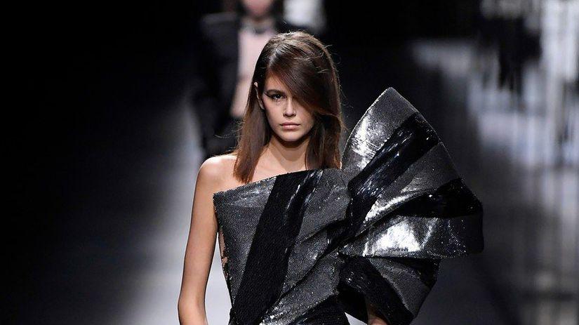 Topmodelka Kaia Gerber na prehliadke módneho...