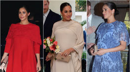 Vojvodkyňa Meghan a jej luxusné outfity v Maroku.