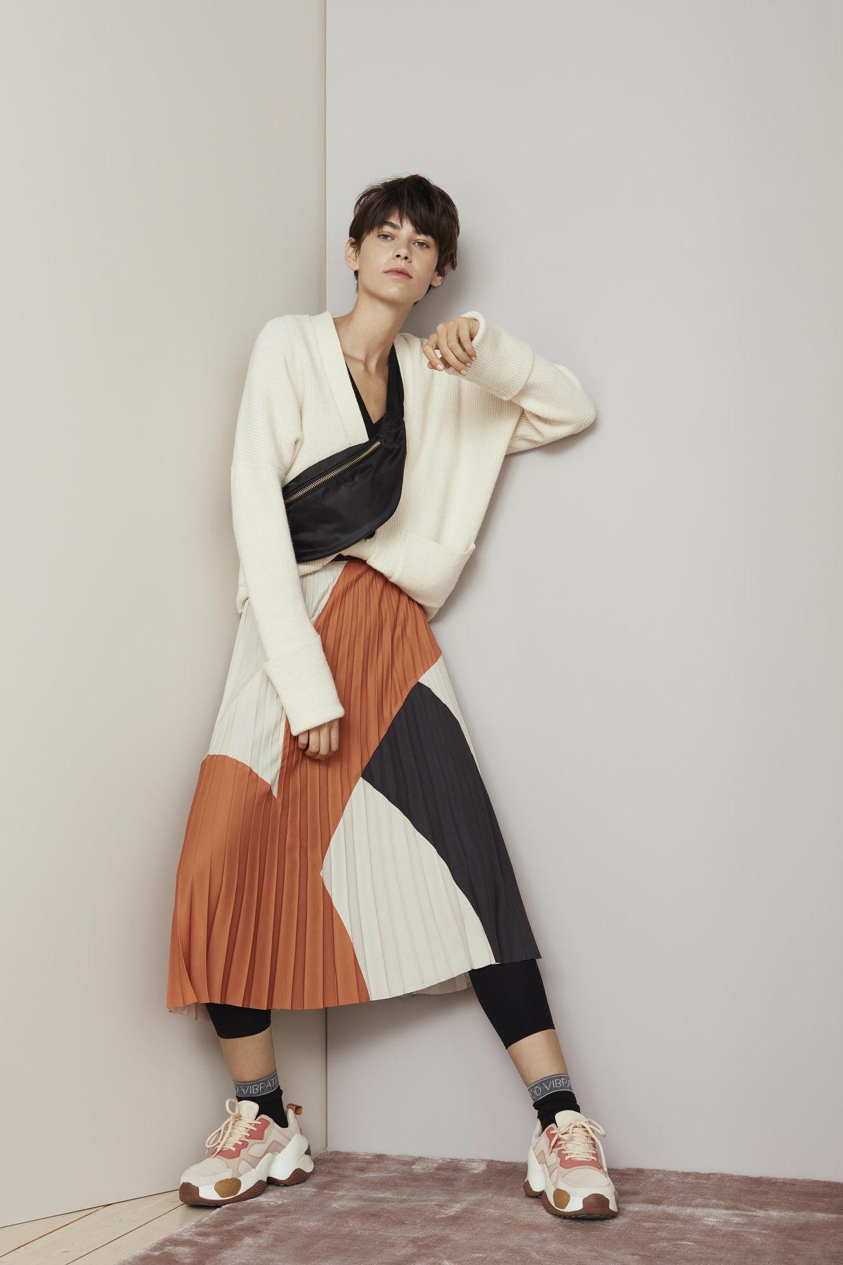 Midi dĺžka sukní je na jar ako stvorená! Toto je 12 tipov pre vás ... 8f10f4091ae