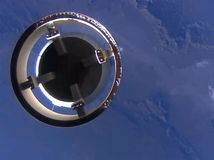 Blue Origin New Shepard Separation Earth View