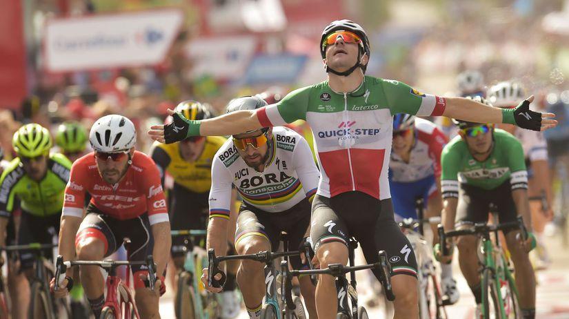 Spain Vuelta Cycling Viviani Sagan