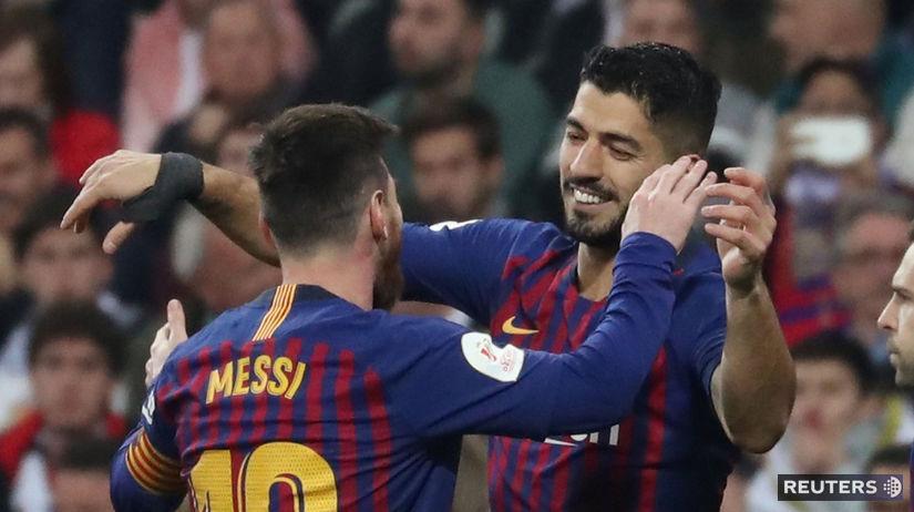 Suárez Messi