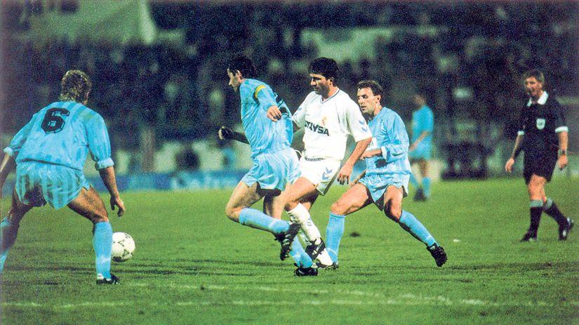 Slovan, Real Madrid