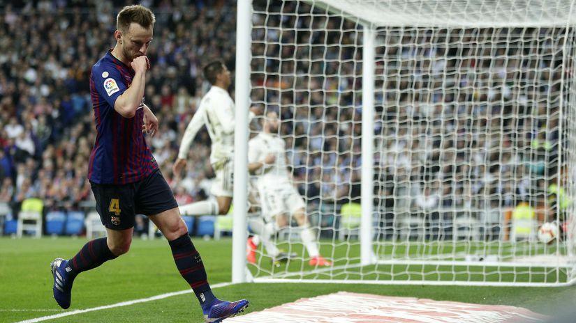 Spain Soccer La Liga Rakitič