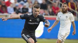 MLS Rapids Real Salt Lake Soccer Rusnák