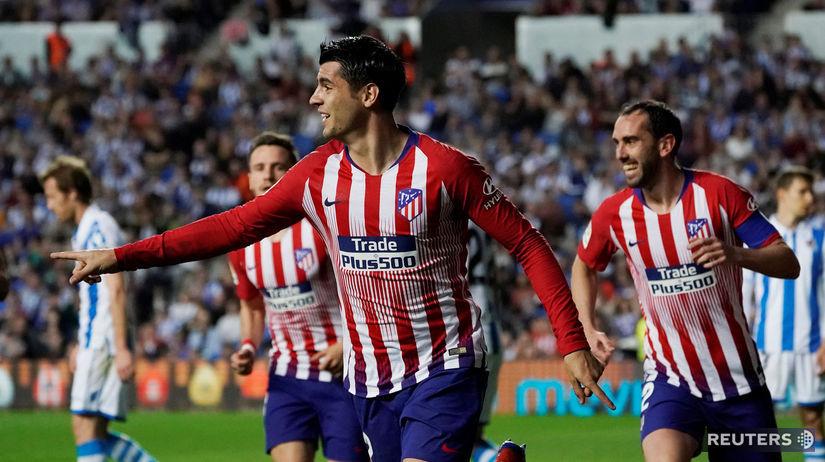 SOCCER-SPAIN-SOC-ATM/ Morata Atlético
