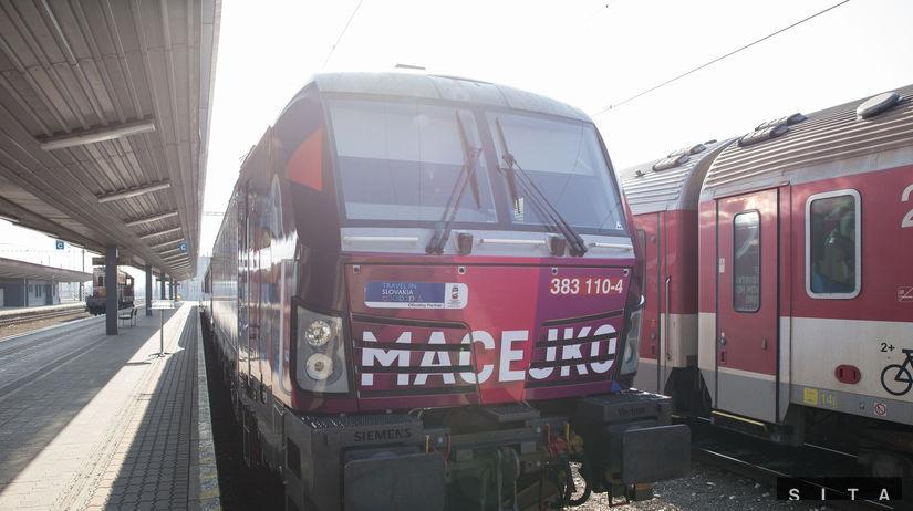 Macejko, IC, vlak