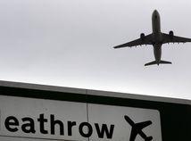 Londýn, Heathrow, letisko, lietadlo