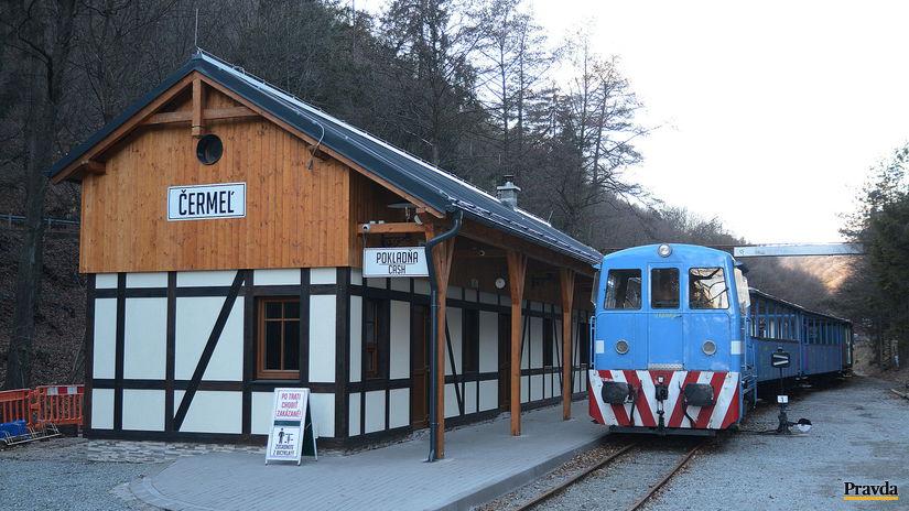 Zeleznicka Detska Cermel Kosice vlak, stanica