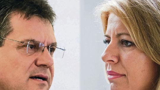 VIDEO  Šefčovič rastie viac ako Čaputová f8470be9d20