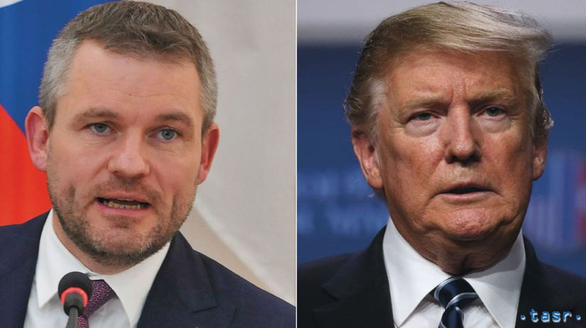 Peter Pellegrini, Donald Trump