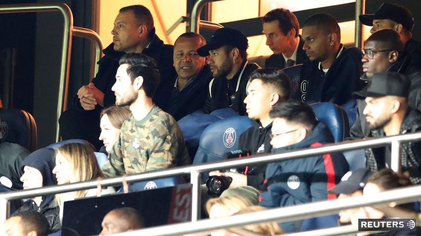 SOCCER-CHAMPIONS-PSG-MUN/ neymar