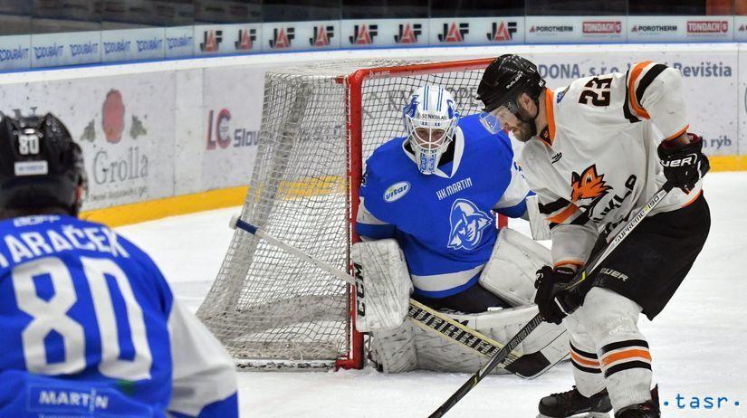 SR Hokej I.liga finále 7. Michalovce Martin KEX