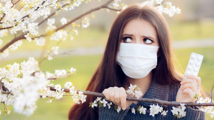 alergia, peľ, tabletky