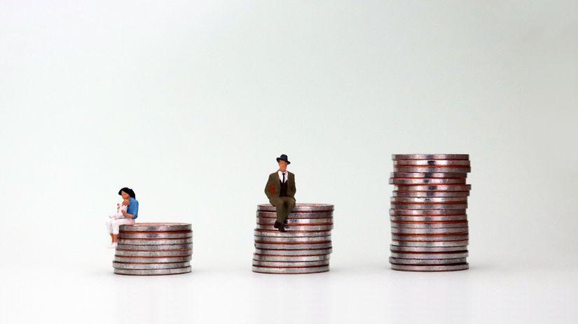 dedo, peniaze, dôchodca, mince