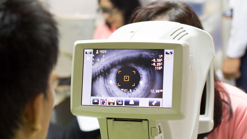 glaukóm, oko, vyšetrenie