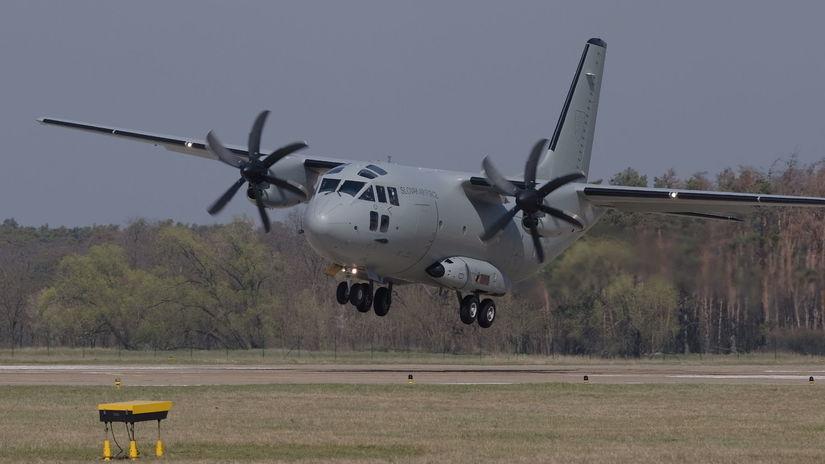 letisko vojenské Kuchyňa lietadlo Spartan C-27J