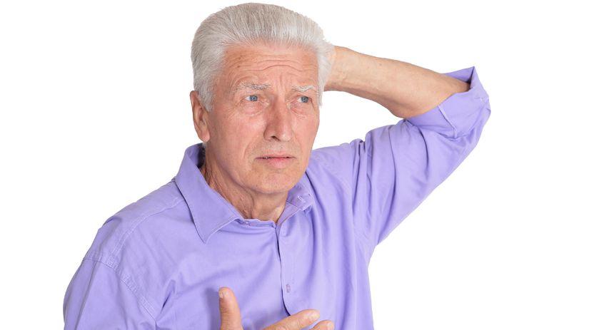 muž, senior, dôchodca