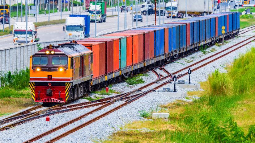 vlak, hodvábna cesta