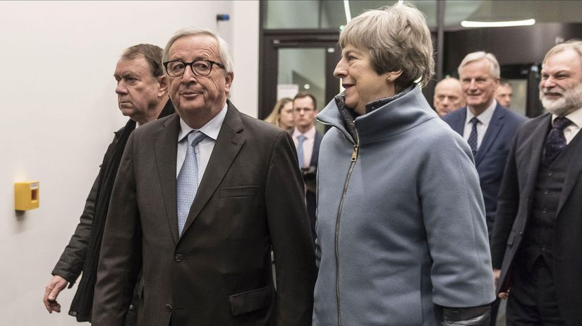 Jean-Claude Juncker, Therese Mayová