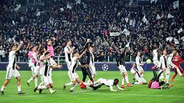 Juventus, postup, radosť