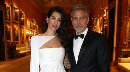 Amal Clooney a  George Clooney