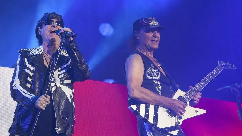 Klaus Meine Matthias Jabs Scorpions