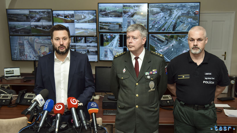 SR Bratislava KR PZ polícia doprava opatrenia...