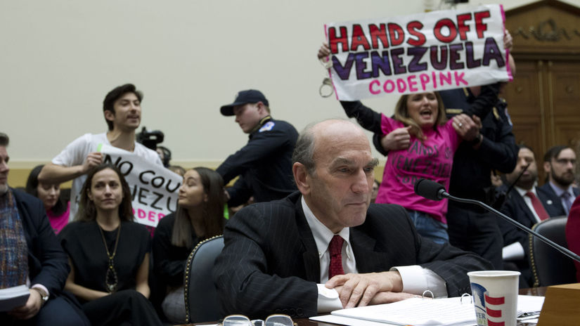 USA Venezuela Senát Abrams vypočutie