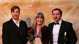 Zľava: Vladimír Polívka, Chantal Poullain, Martin Hofmann