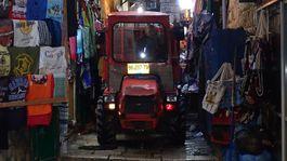 Izrael, th, traktor