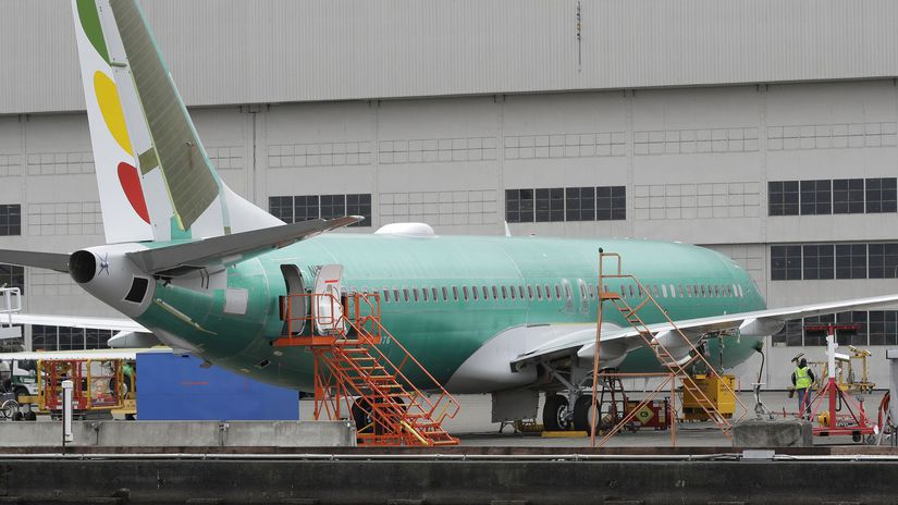 lietadlo havária Boeing aerolínie
