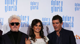 Pedro Almodovar, Penelope Cruz a Antonio Banderas