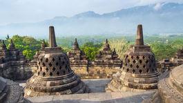 Borobudur, Indonézia, Jáva,