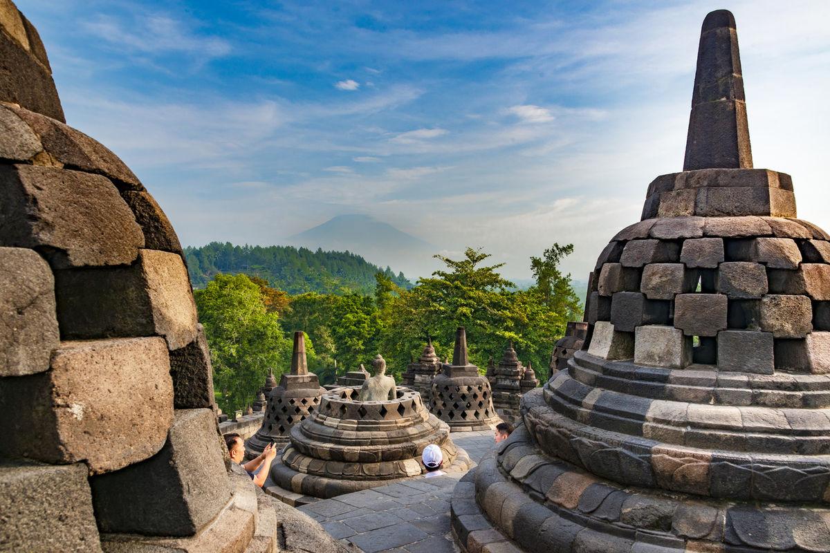 Borobudur, Indonézia, Jáva