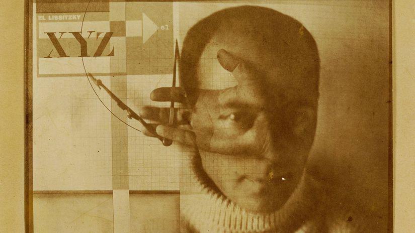 El Lisickij Autoportrét 1924